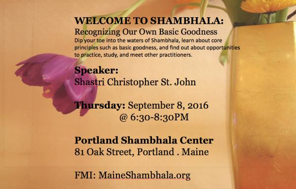 Welcome to Shambhala
