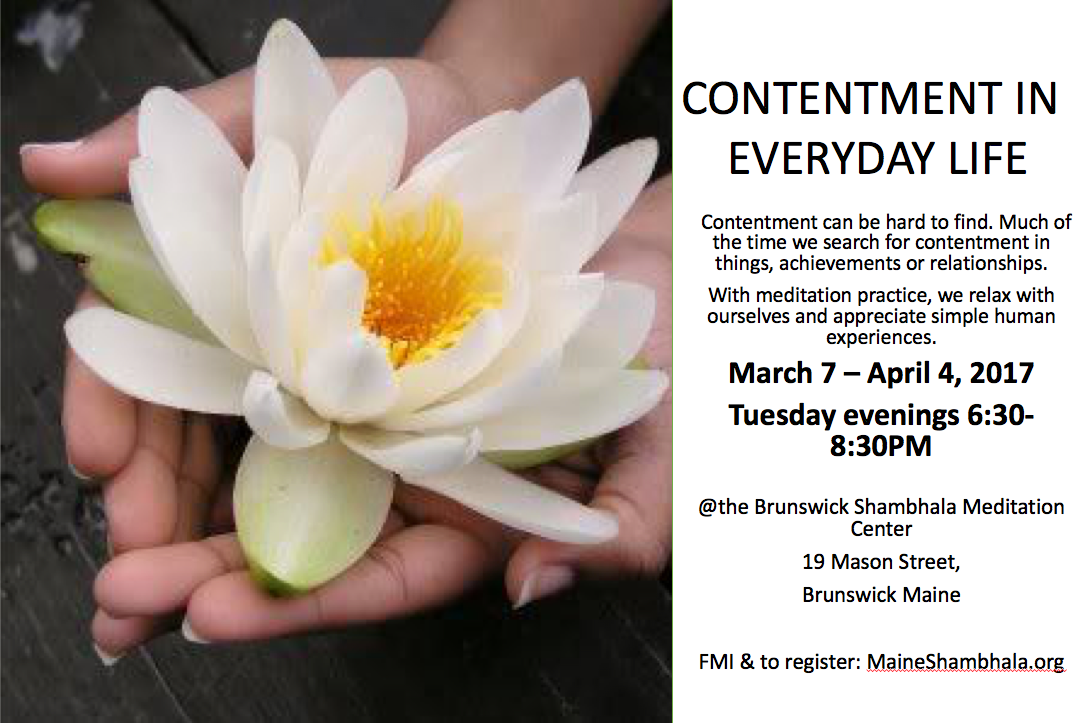 contentment-in-everyday-life-flyer